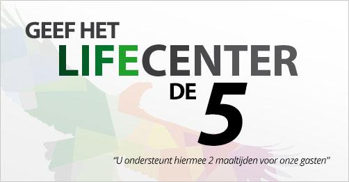 LifeCenter ondersteunen